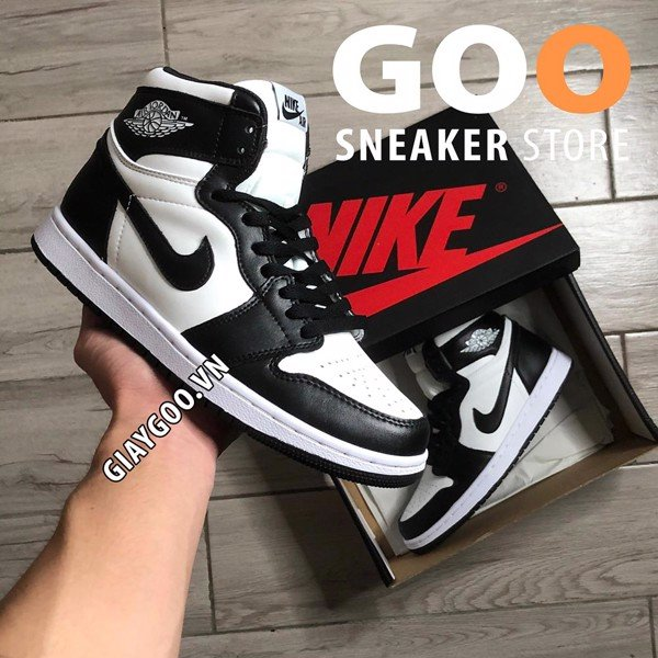 Nike Air Jordan 1 High 'Black White' 1:1