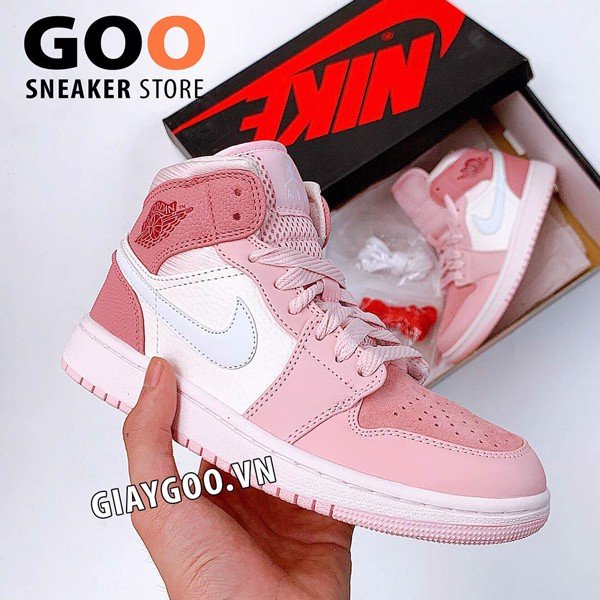 Nike Air Jordan 1 Mid 'Digital Pink' 1:1
