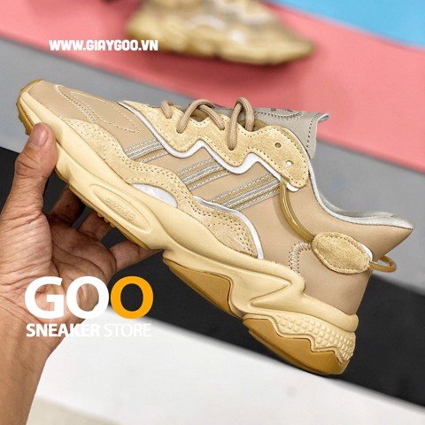 adidas ozweego beige light brown pale nude