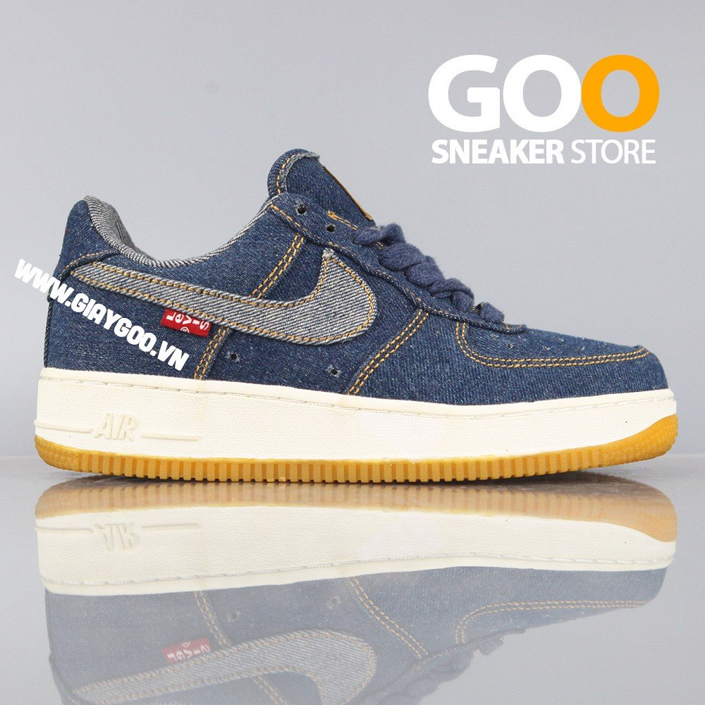 Nike Air Force 1 Levis Jean PK GOD