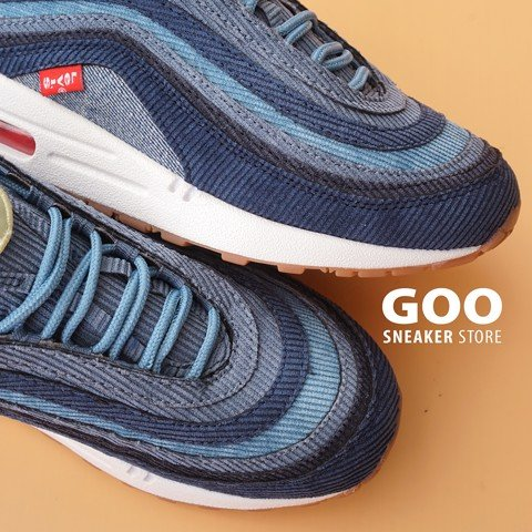 Nike Air Max 1/97 Sean Wotherspoon Xanh Jean