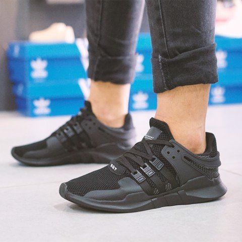 Adidas EQT All Black Đen full