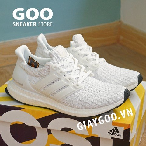 Ultra boost 4.0 trắng Rep 1:1