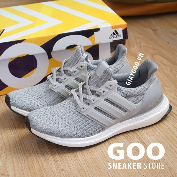 Ultra Boost 4.0 Xám Rep 1:1