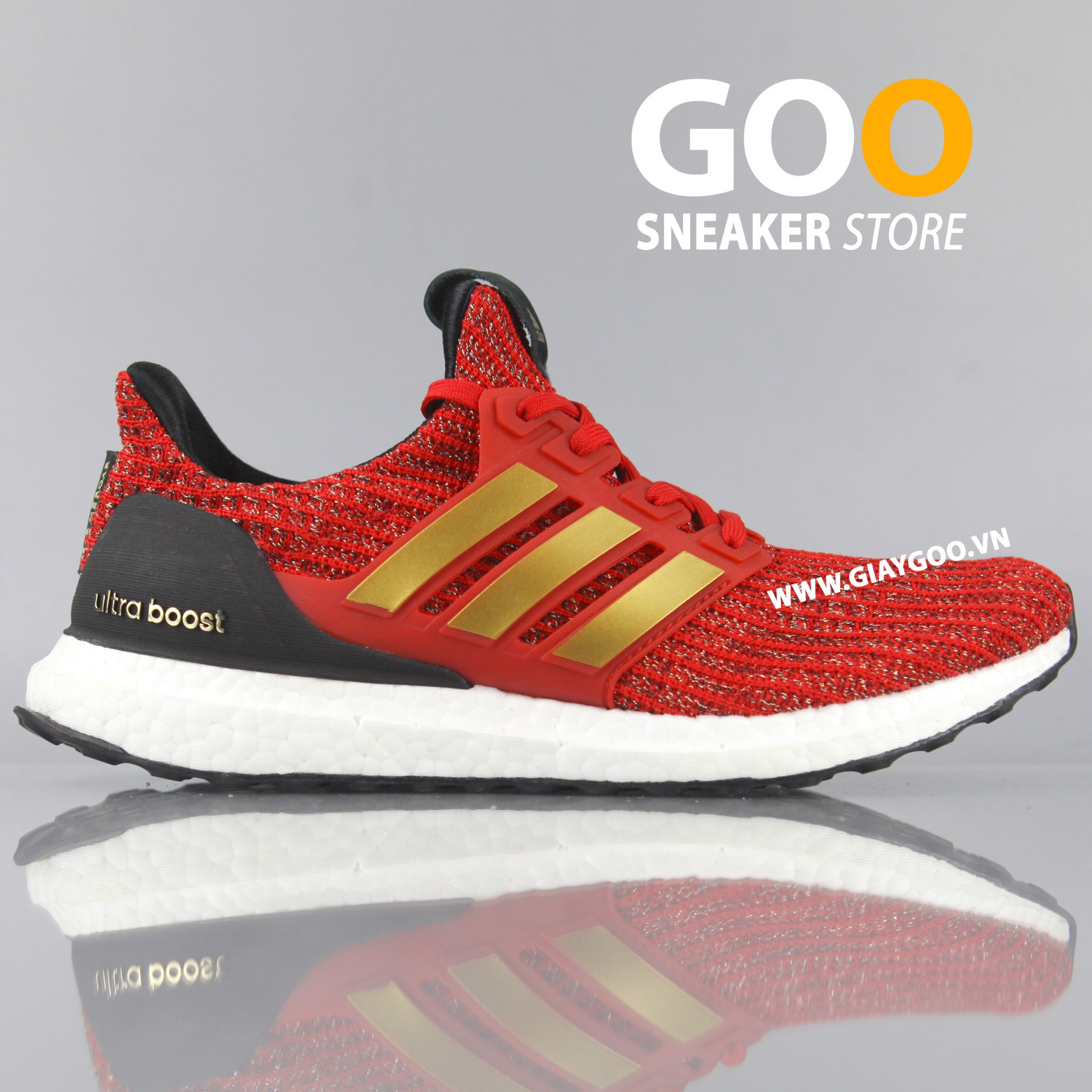 Giày Ultra Boost 4.0 Game Of Thrones House Lanister Rep 1:1