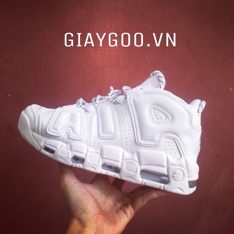 Nike Uptempo all white REP