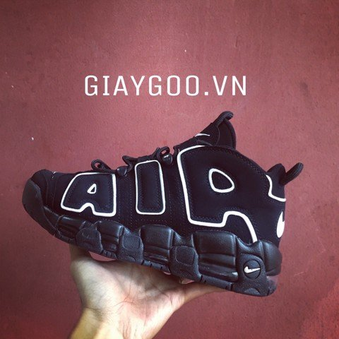 Nike Uptempo Black White REP