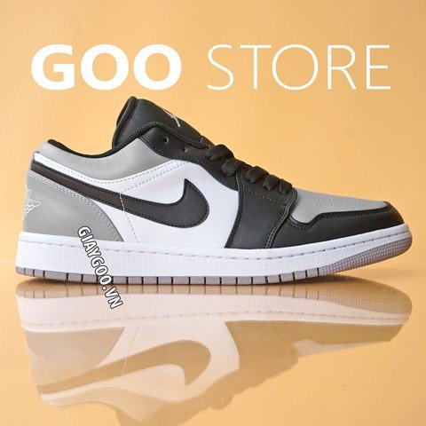Nike Jordan 1 Low 'Atmosphere' Grey Black  1:1