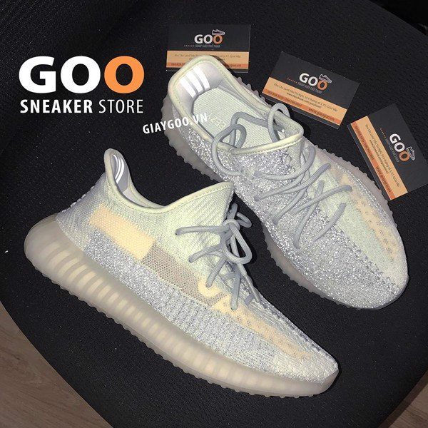 Yeezy 350 Cloud White Reflective Rep 1:1