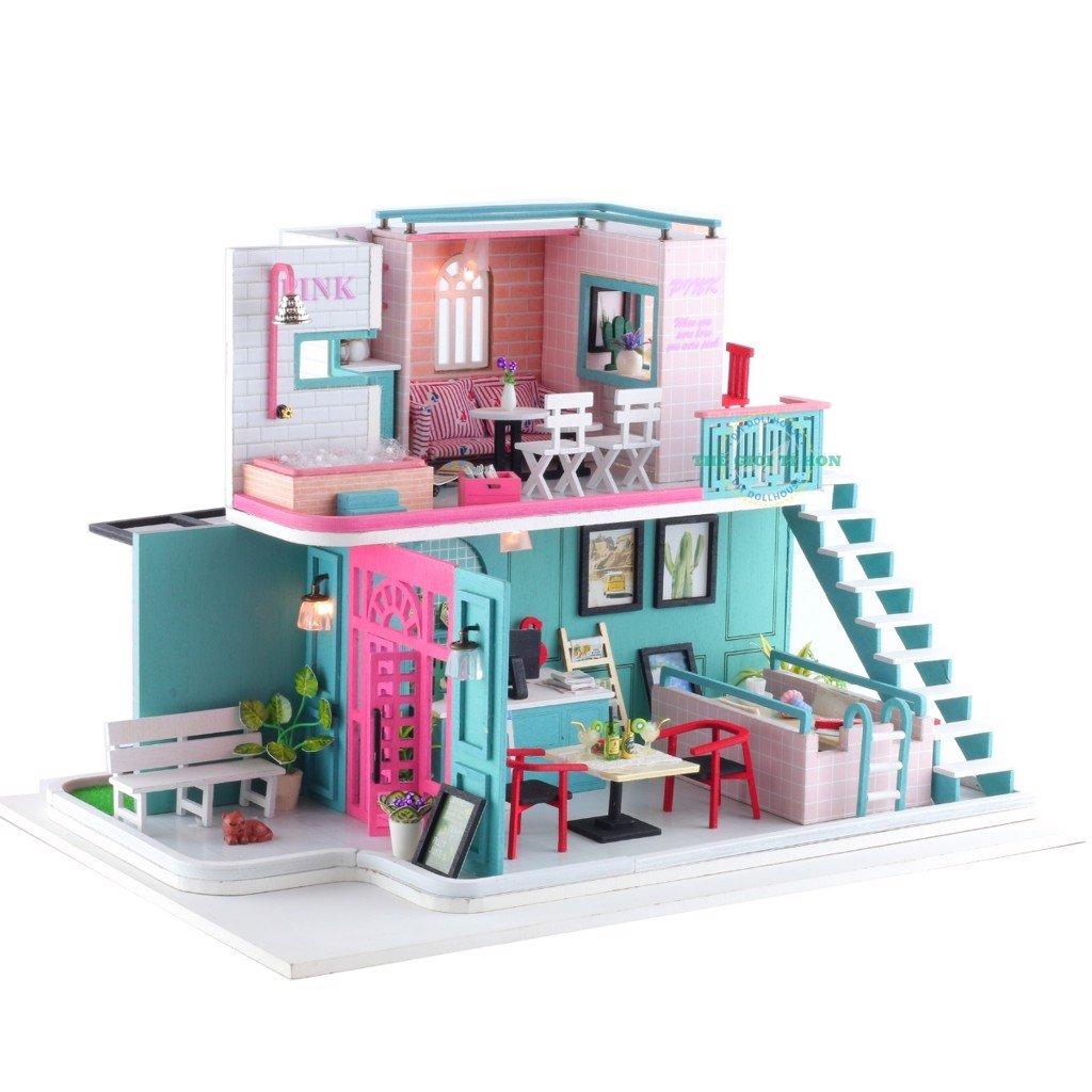 Cafe Pinky Love (Tặng Mica Che Bụi + Keo UFO 35ml)