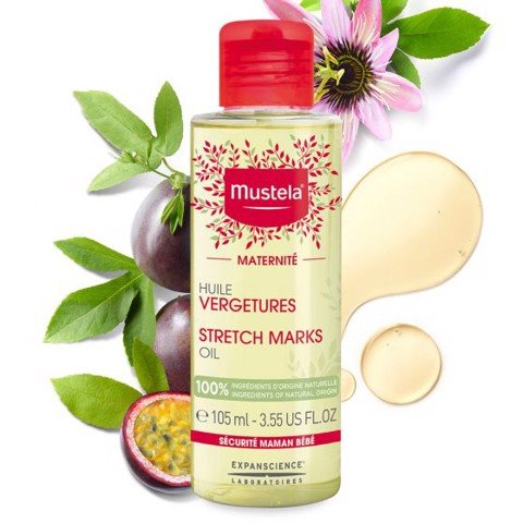dau ngan ngua ran da stretch marks oil 105ml