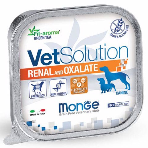 MONGE VETSOLUTION DOG RENAL VÀ OXALATE