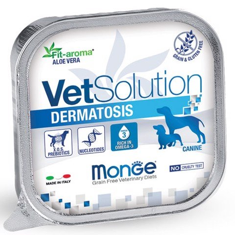 MONGE VETSOLUTION DOG DERMATOSIS