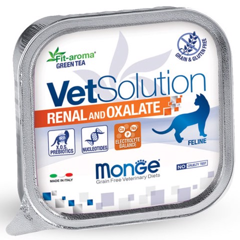 MONGE VETSOLUTION CAT RENAL VÀ OXALATE