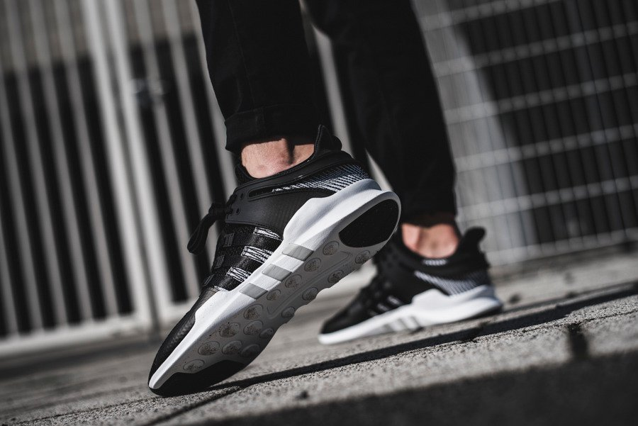 adidas Originals EQT Support ADV Sneakers In Black BY9585
