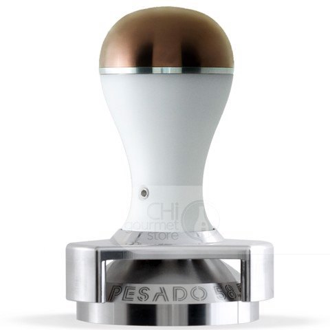 Tamper With Depth Adjuster White/Bronze Modular - Pesado