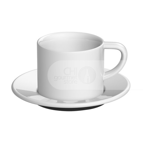 Bond 150ml Cappuccino Cup & Saucer