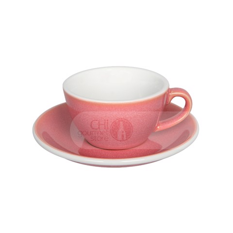 Egg 150ml Flat White Cup & Saucer (Potters Colors)
