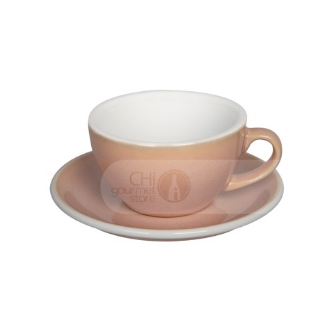 Egg 200ml Cappuccino Cup & Saucer (Potters Colors)