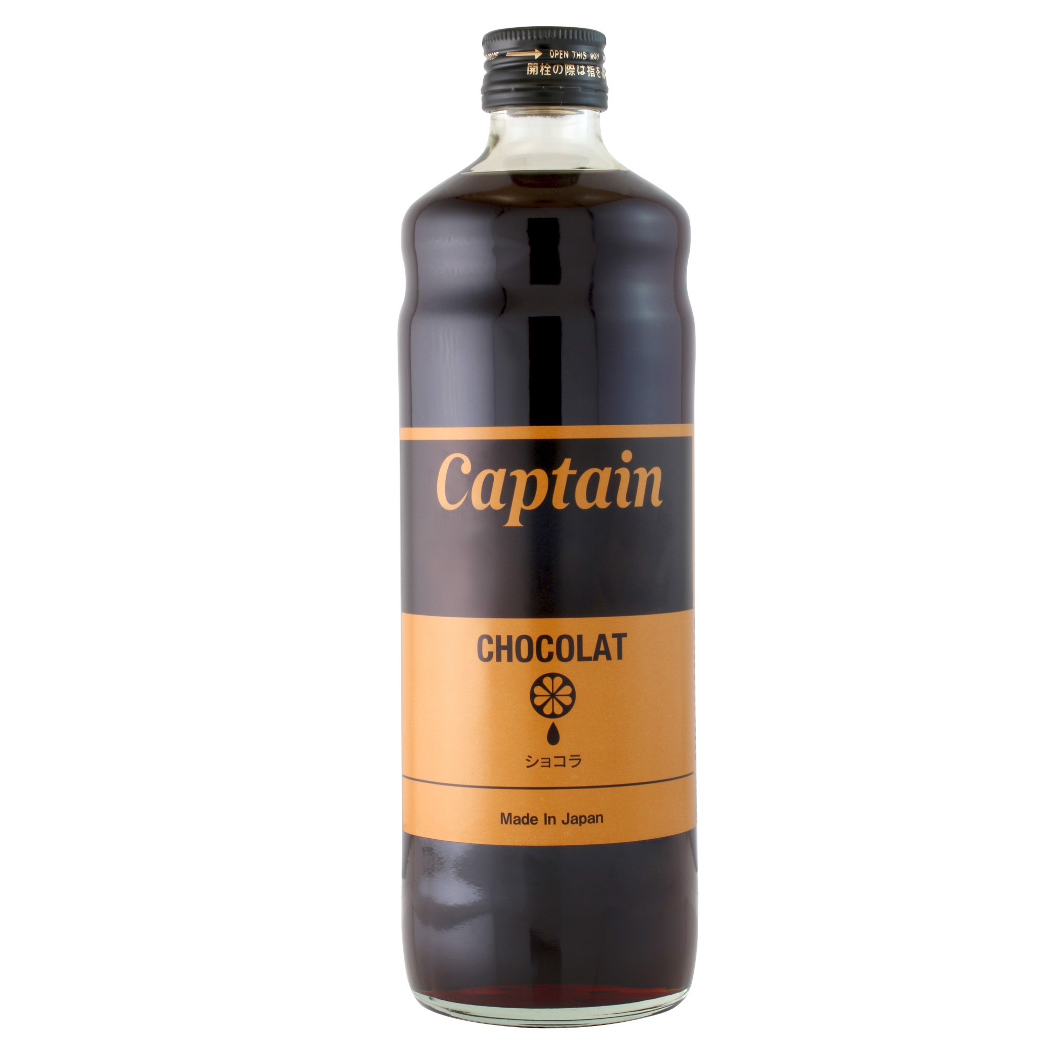 Syrup Chocolate - Captain