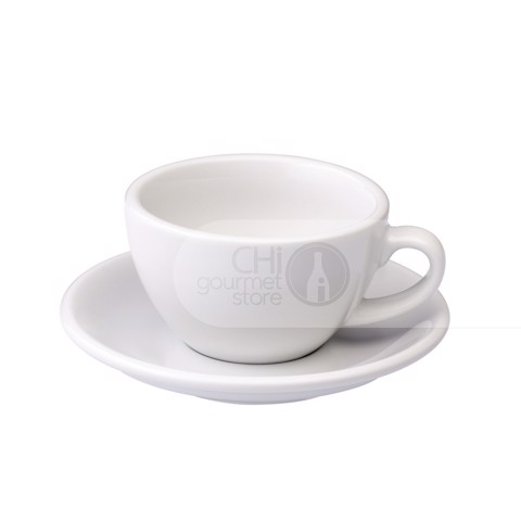 Egg 200ml Cappuccino Cup & Saucer