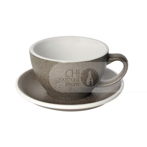 Egg 300ml Café Latte Cup & Saucer (3 Potters)