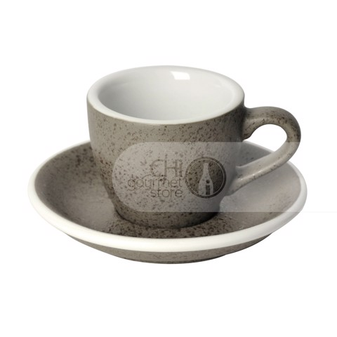 Egg 80ml Espresso Cup & Saucer (3 Potters)