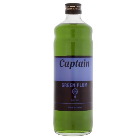 Syrup Green Plum (Mận Xanh) - Captain