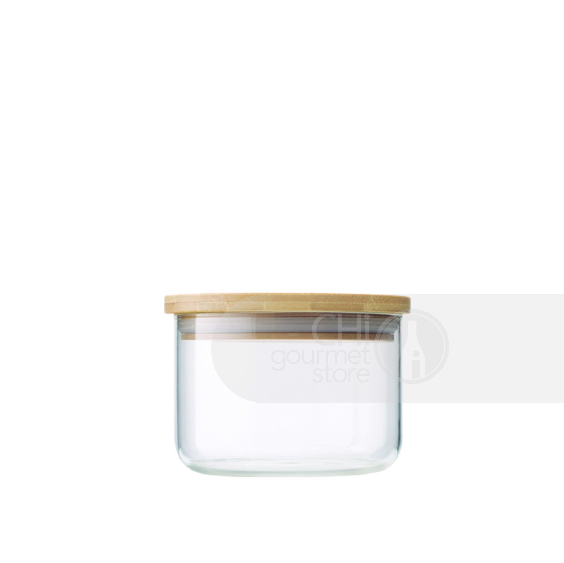 Prep+ 300ml  Glass Storage Jar (Clear)