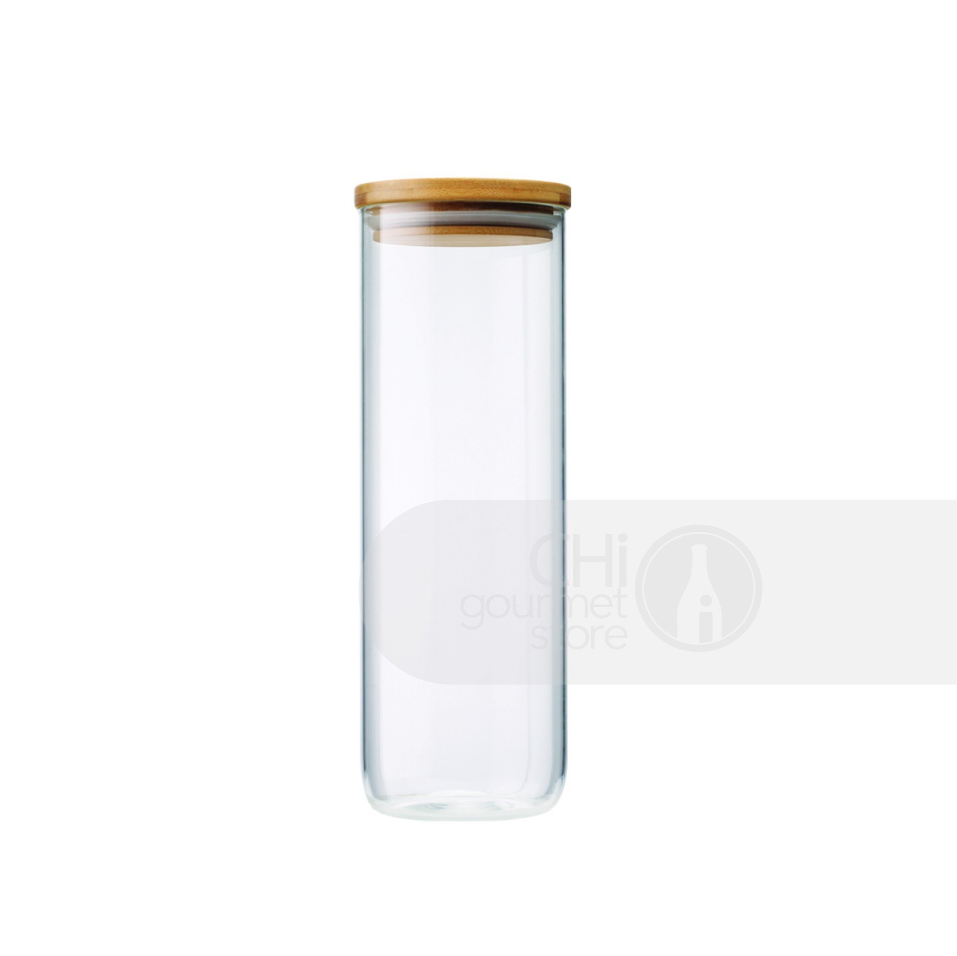 Prep+ 1750ml Glass Storage Jar (Clear)