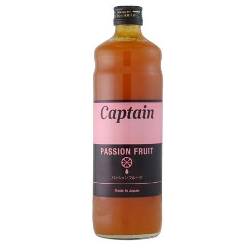 Syrup Passion Fruit (Chanh Dây) - Captain