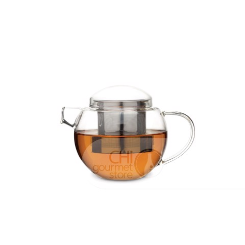 Pro Tea Glass Teapot with Infuser (Clear) 600ml