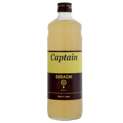 Syrup Sudachi (Chanh Sudachi) - Captain