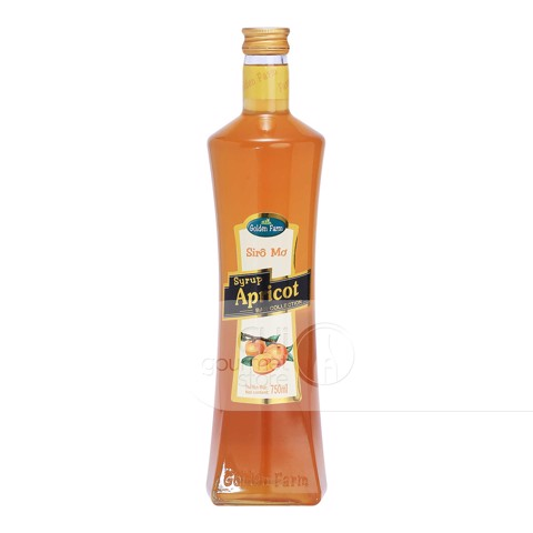 Syrup Mơ 750ml - Golden Farm