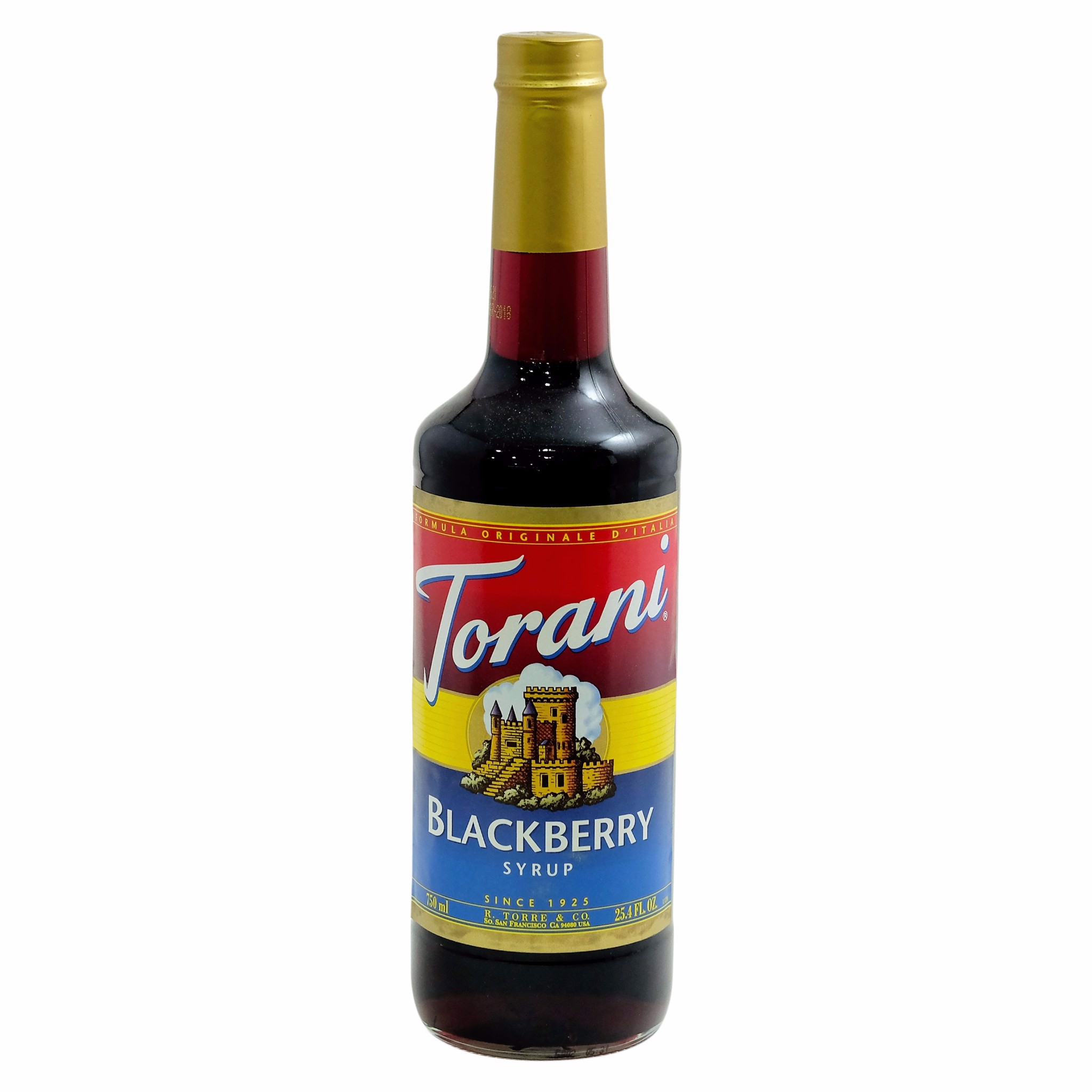 Syrup Blackberry 750ml - Torani