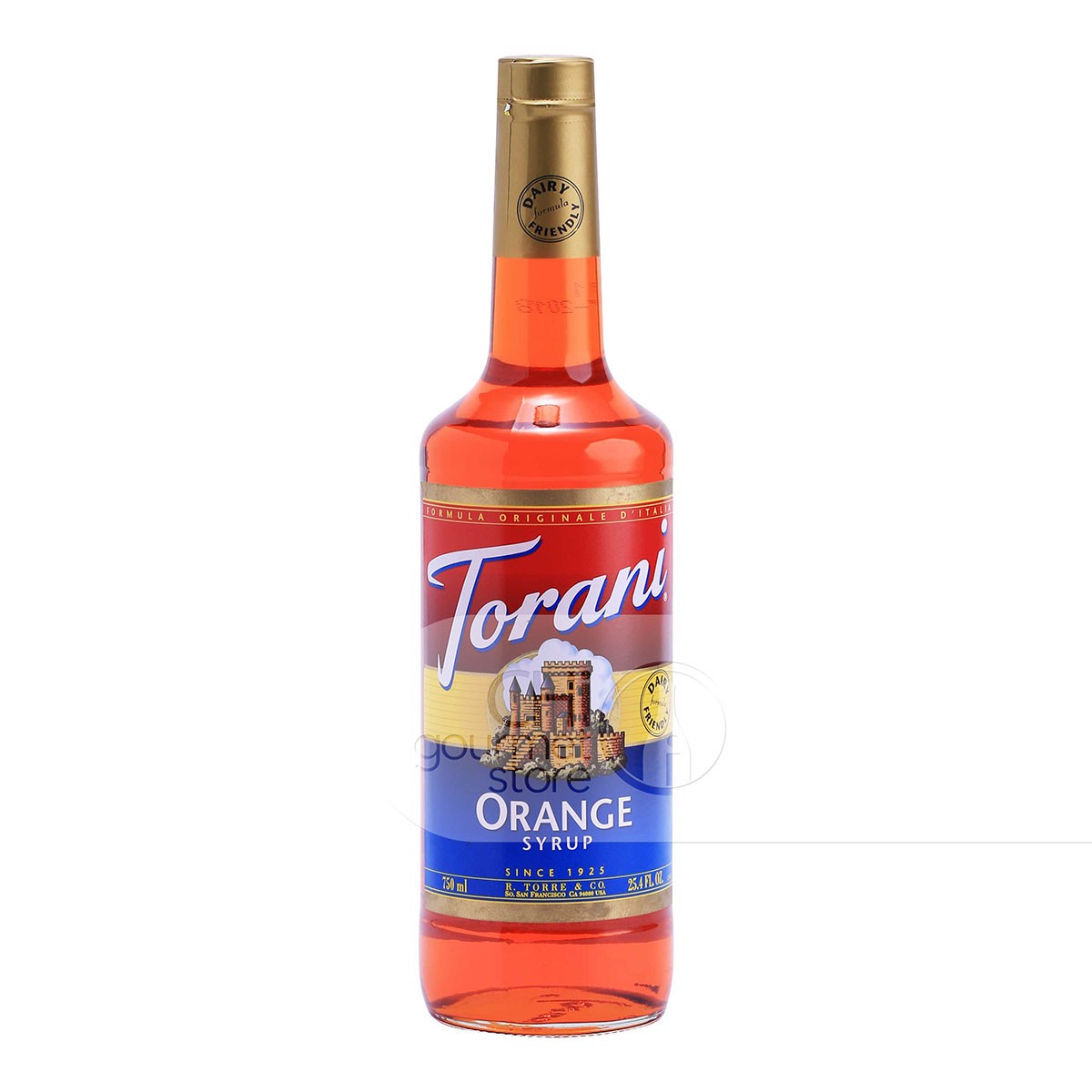 Syrup Orange 750ml - Torani