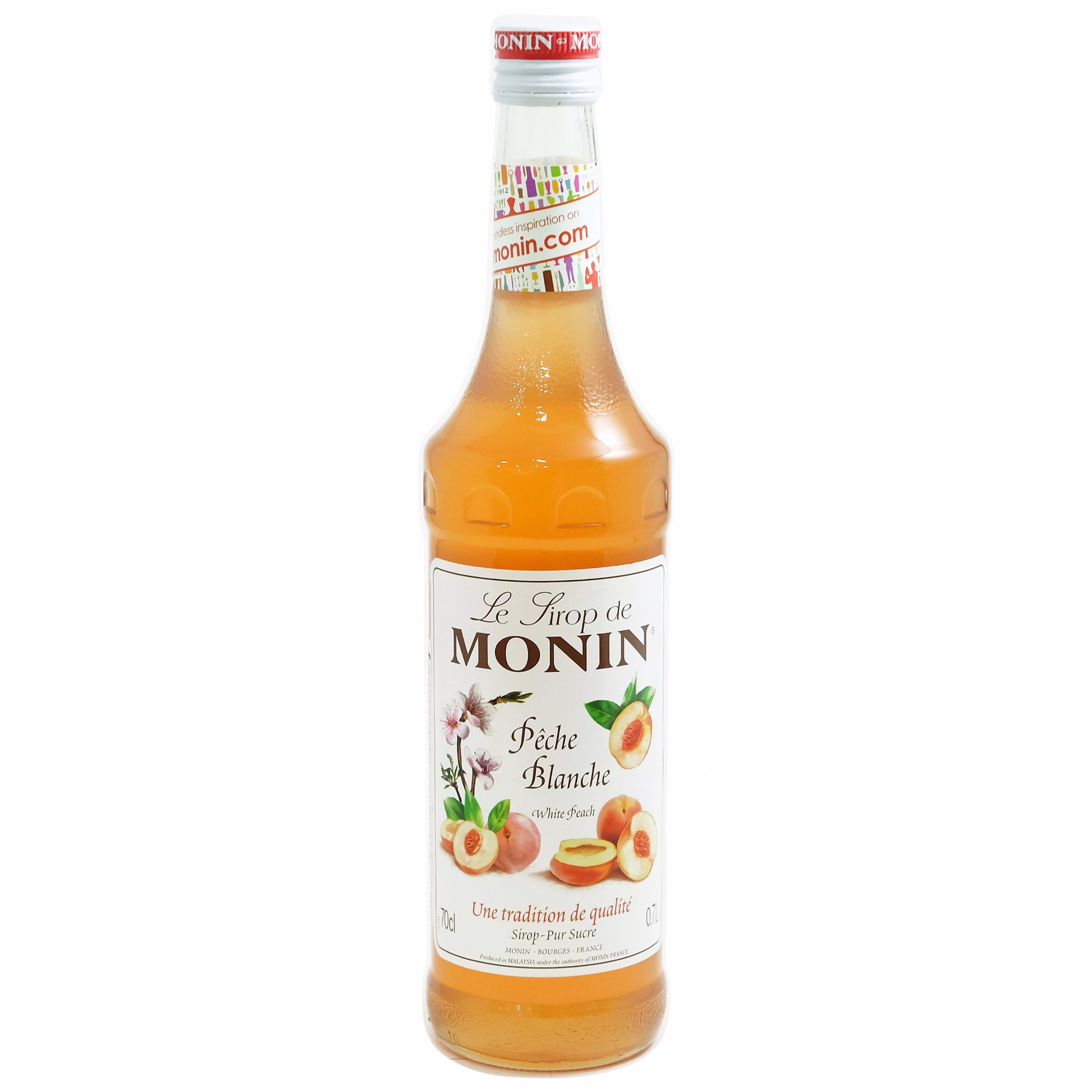 Syrup White Peach 700ml - Monin