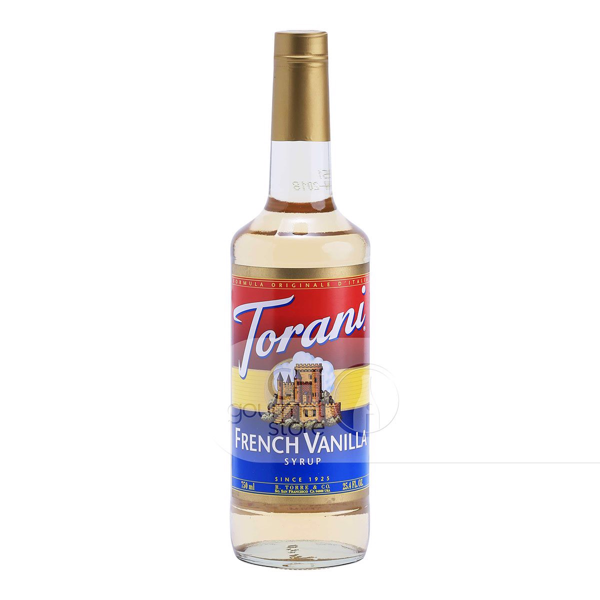 Syrup French Vanilla 750ml - Torani