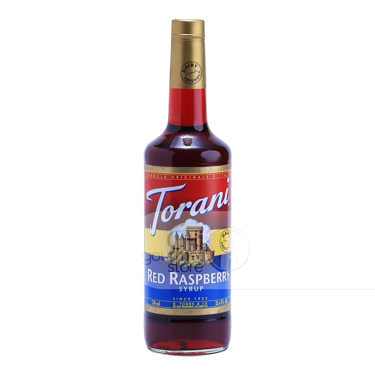 Syrup Red Raspberry 750ml - Torani