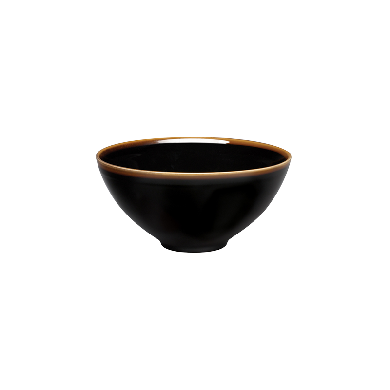 STUDIO TENMOKU - 20CM SERVE BOWL (BLACK)