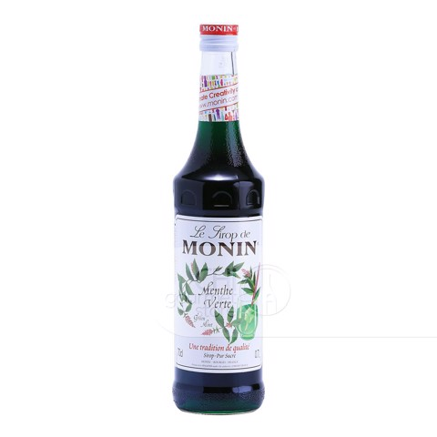 Syrup Green Mint 700ml - Monin