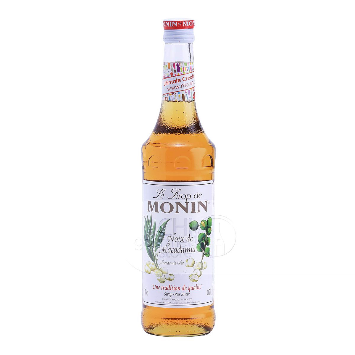 Syrup Macadamia Nut 700ml - Monin