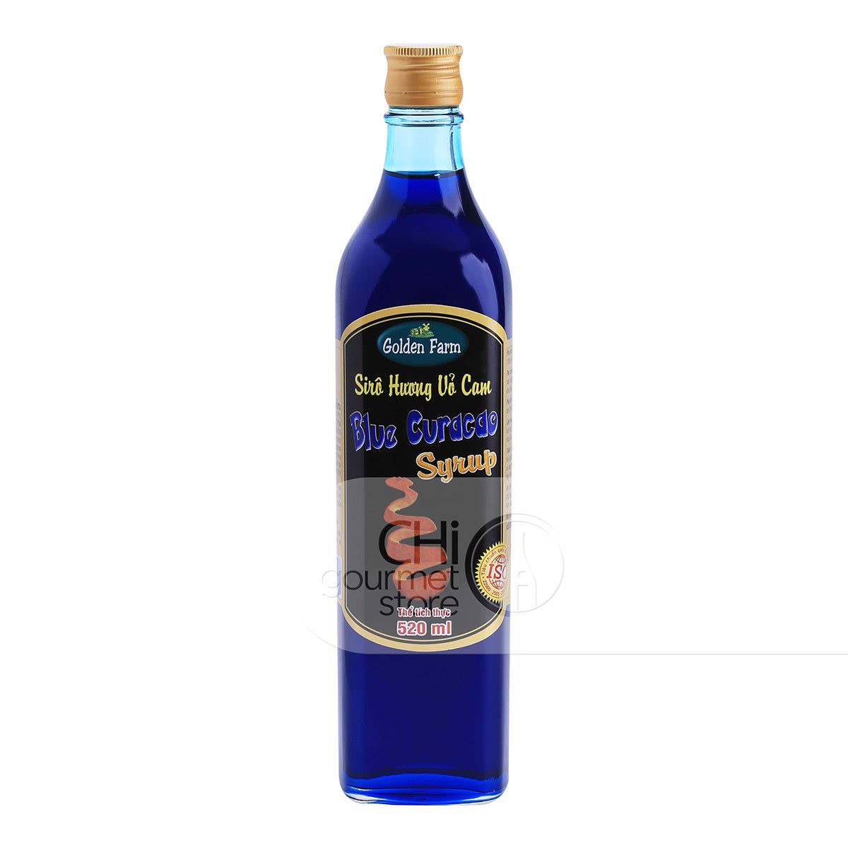 Syrup Vỏ Cam 520ml - Golden Farm
