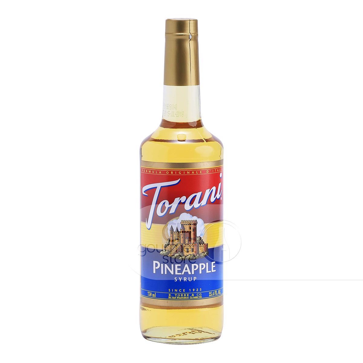 Syrup Pineapple 750ml - Torani