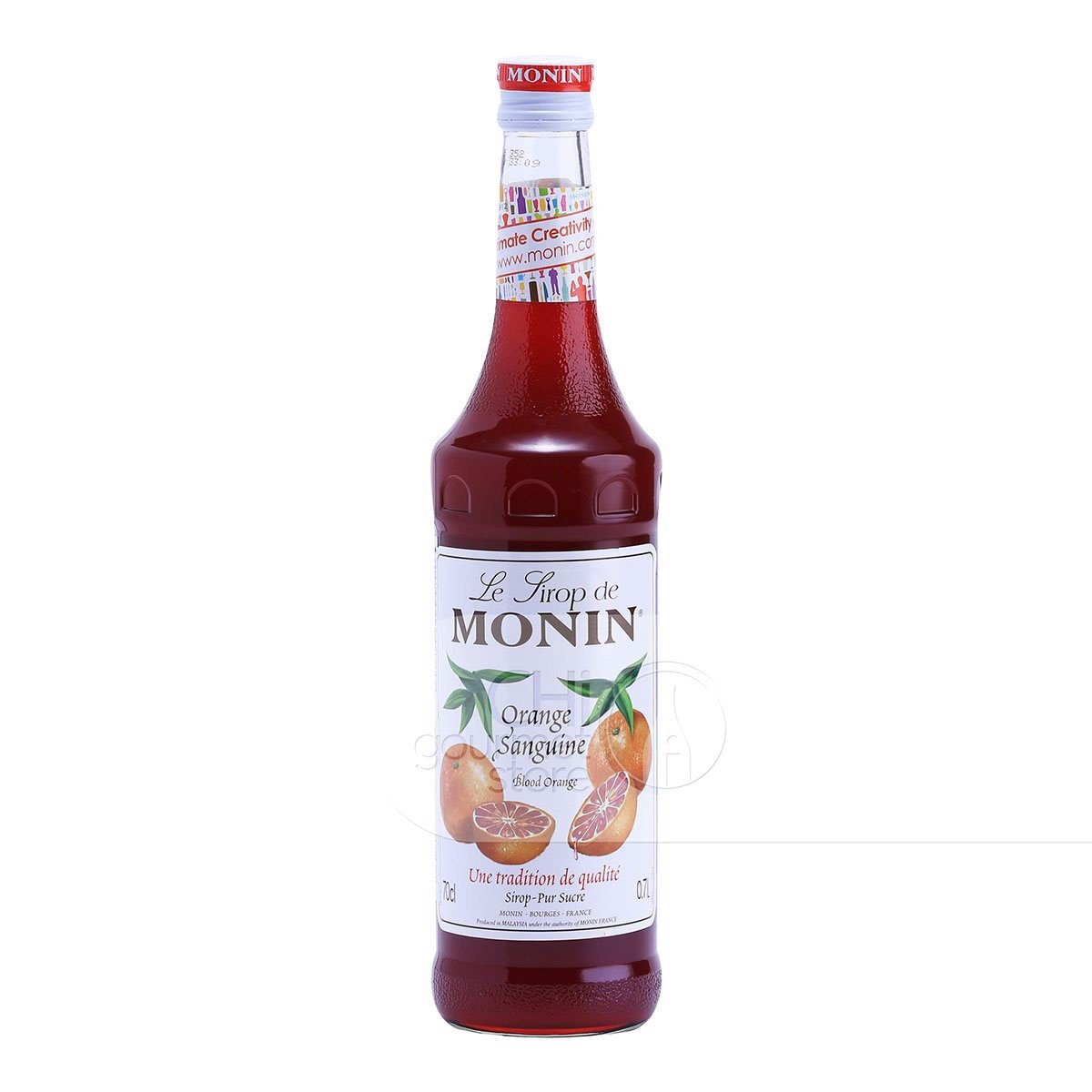 Syrup Orange Blood 700ml - Monin