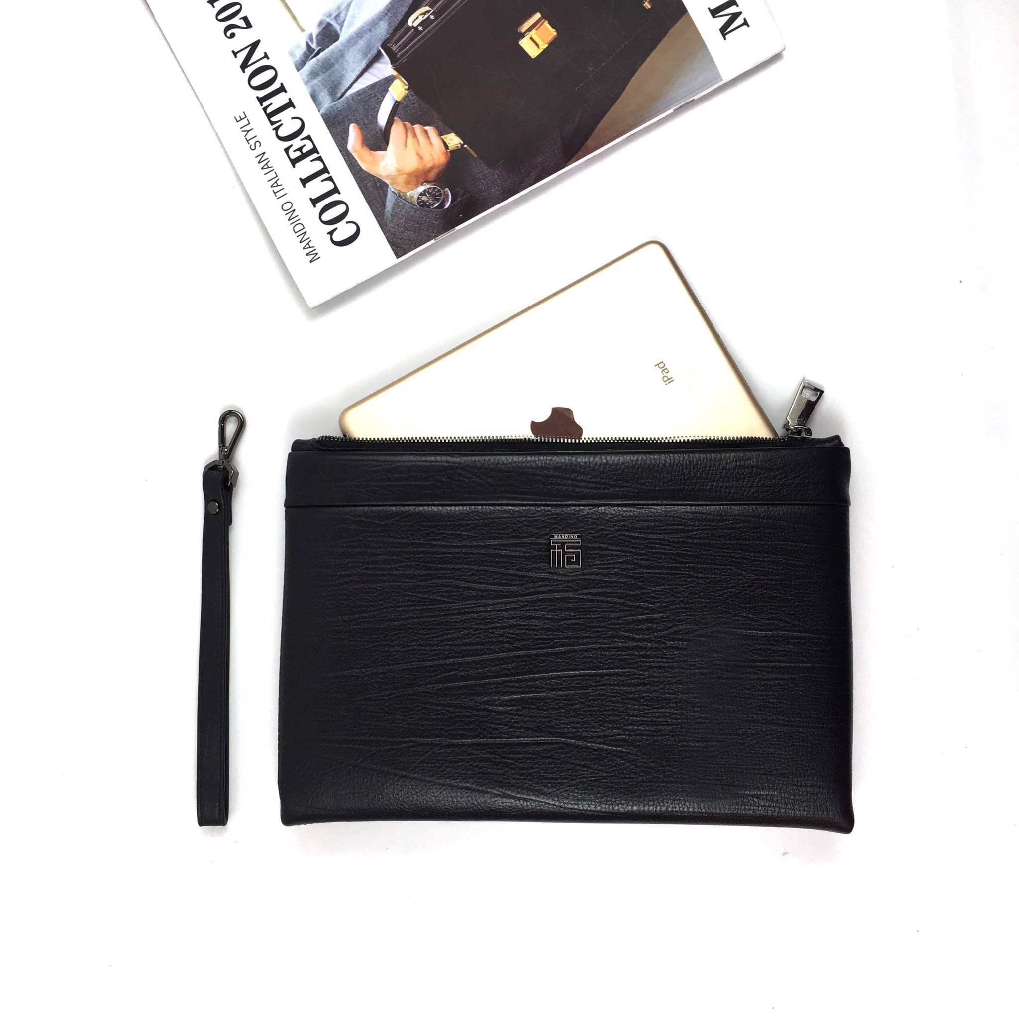 Clutch SN 356 Mandino / Black