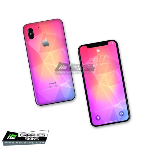 Skin iPhone X - Mẫu 001
