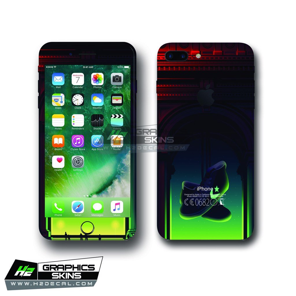 Skin iPhone 7 plus - Mẫu 001