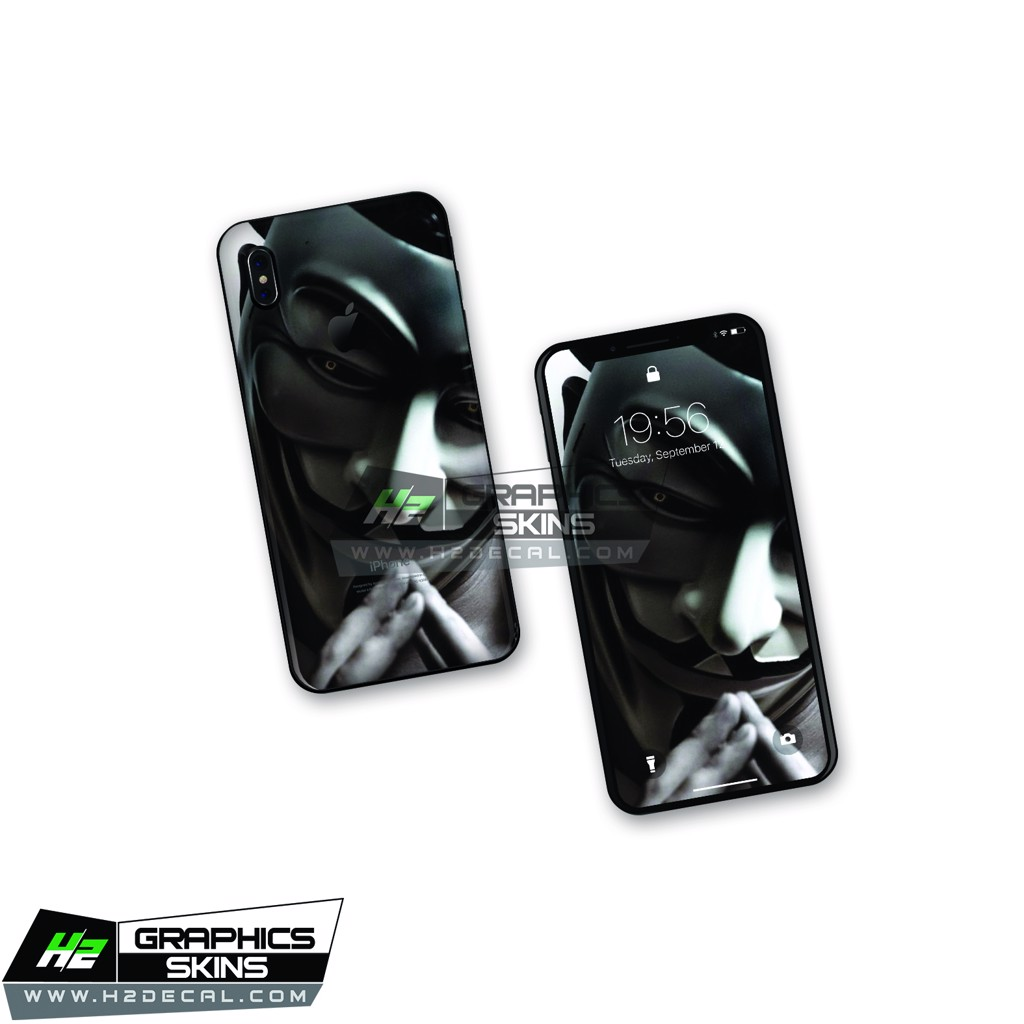 Skin iPhone X - Mẫu 013