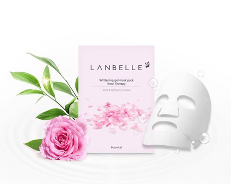 Mặt Nạ Trắng Sáng Da Whitening gel mask pask Rose Therapy